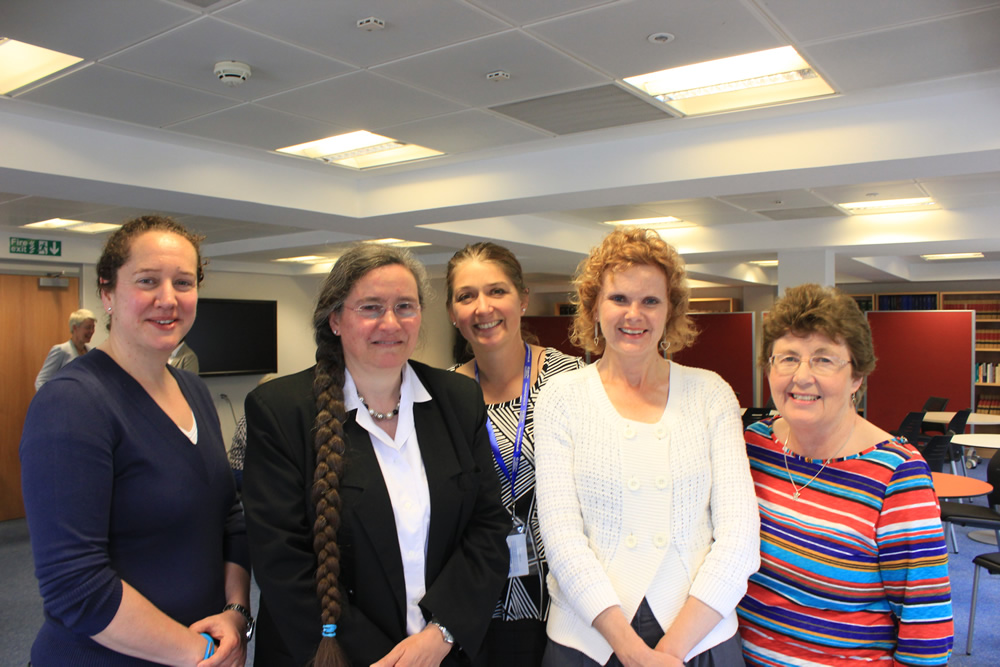 Trustees with New Sec'y, Jane Hampson