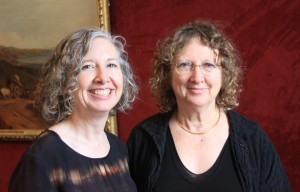 Sarah  Rhodes (left) and Dr Pam Hirsch.